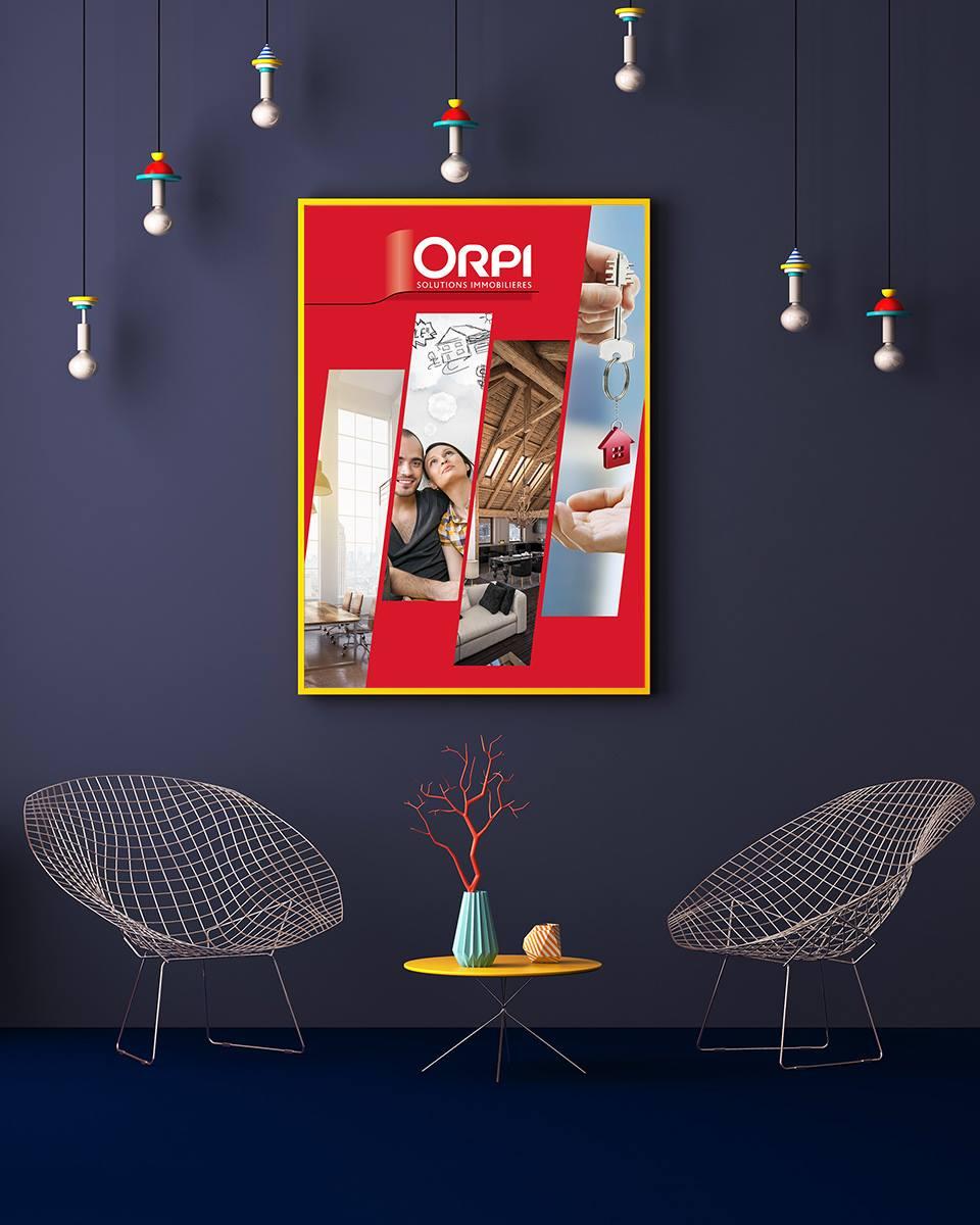 Création de la communication pour Orpi - Agence écho