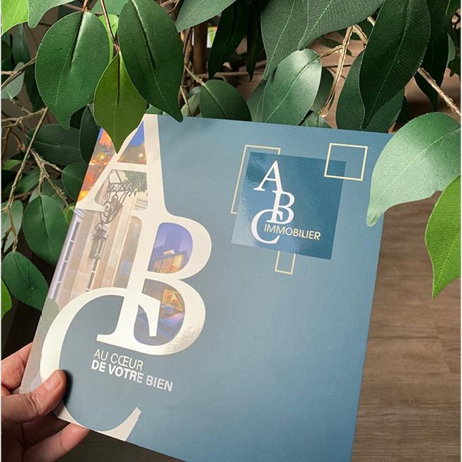 Impression brochure agence écho - Pépinères Chastel
