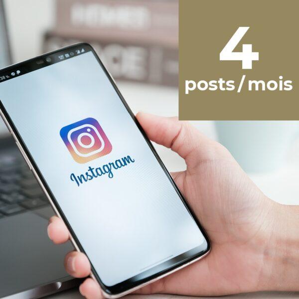 Instagram 4 posts