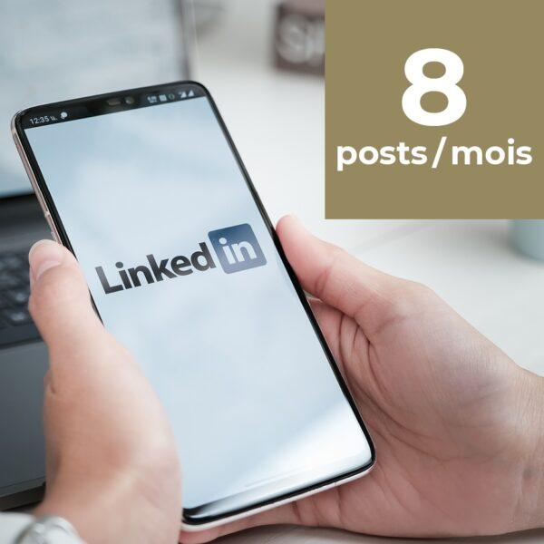 Linkedin 8 posts